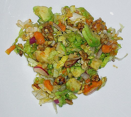 Avocado - Papaya - Salat 0