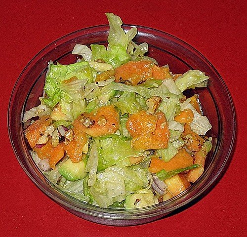 Avocado - Papaya - Salat 2