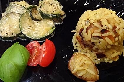Bananen - Curryreis mit Zucchini 8