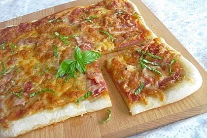 Pizza ganz einfach
