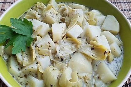 Kartoffel - Artischocken - Eintopf (Bild)