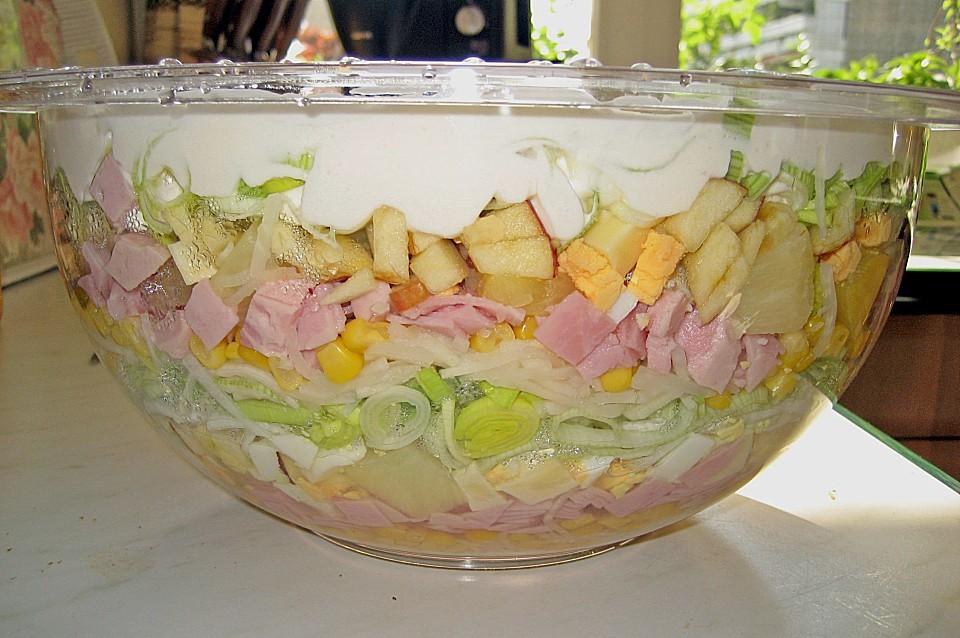 Salate rezepte schichtsalat