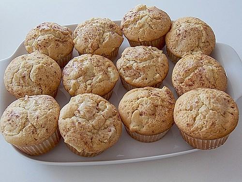 apfel zimt muffins rezept mit bild von fee86. Black Bedroom Furniture Sets. Home Design Ideas
