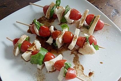 Mozzarella - Tomaten Spieße 13