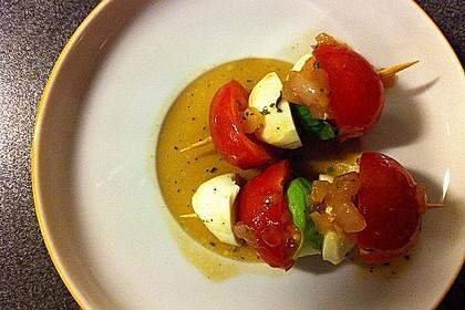 Mozzarella - Tomaten Spieße 15