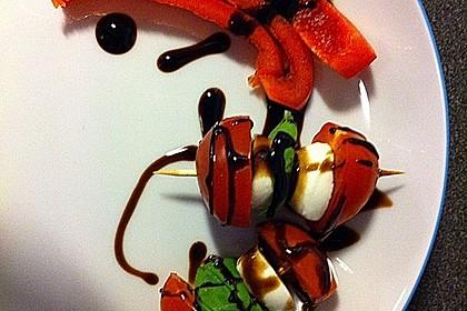 Mozzarella - Tomaten Spieße 5