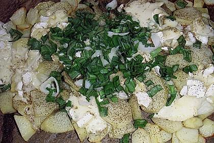 Backofenkartoffeln mit Brie 2