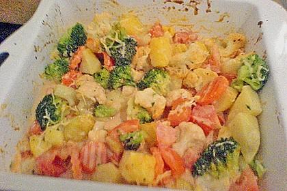 Kartoffelauflauf mit Brokkoli und Tomaten 17