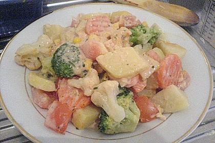 Kartoffelauflauf mit Brokkoli und Tomaten 26