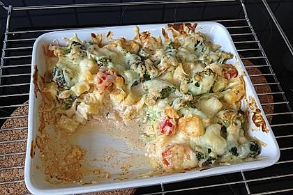 Kartoffelauflauf mit Brokkoli und Tomaten 22