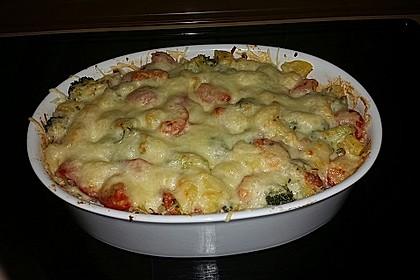 Kartoffelauflauf mit Brokkoli und Tomaten 5