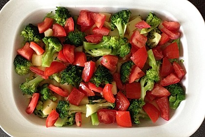 Kartoffelauflauf mit Brokkoli und Tomaten 15