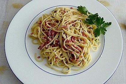 Spaghetti in Knoblauch und Öl 6