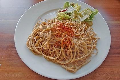 Spaghetti in Knoblauch und Öl 16