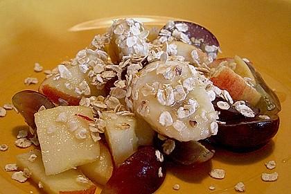 Süß - saurer Obstsalat
