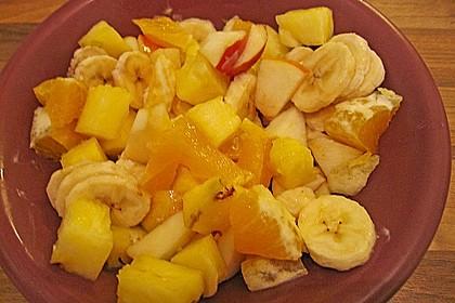 Süß - saurer Obstsalat 2