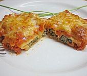 Cannelloni mit Mangold - Käsefüllung (Bild)