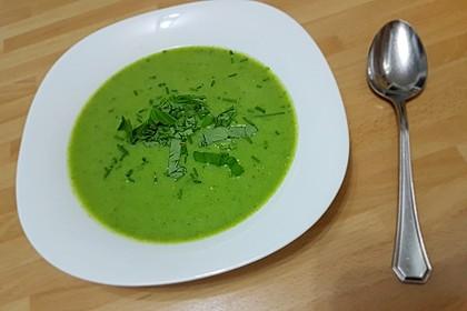 Brokkoli - Basilikum Suppe 9