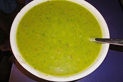 Brokkoli - Basilikum Suppe 10