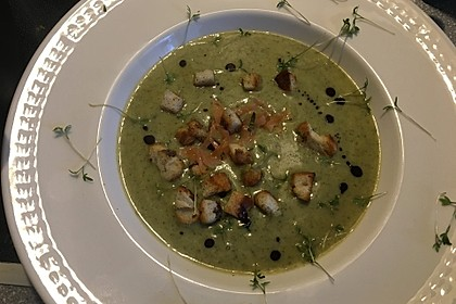 Brokkoli - Basilikum Suppe 5