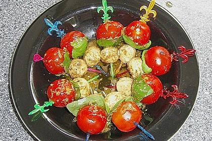 Tomaten - Mozzarella - Spieße 38