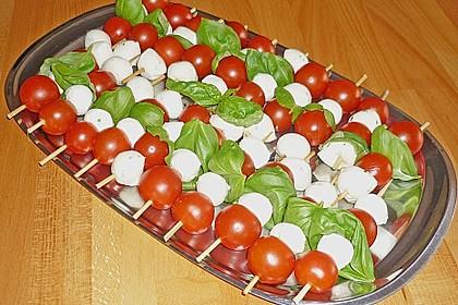 Tomaten - Mozzarella - Spieße 7