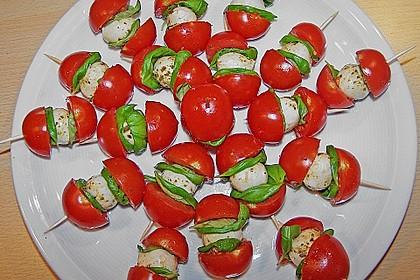 Tomaten - Mozzarella - Spieße 3