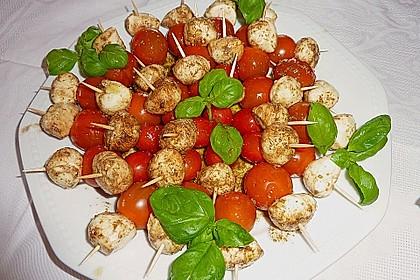 Tomaten - Mozzarella - Spieße 18