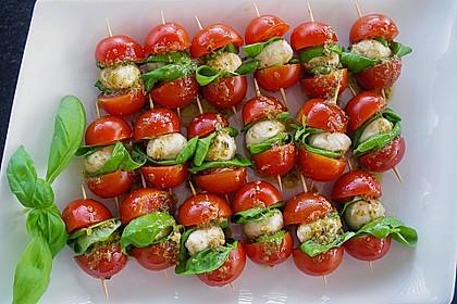 Tomaten - Mozzarella - Spieße 0