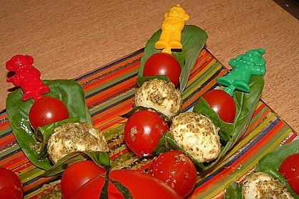 Tomaten - Mozzarella - Spieße 14