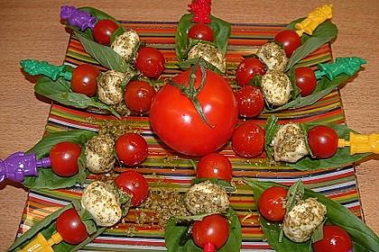 Tomaten - Mozzarella - Spieße 15