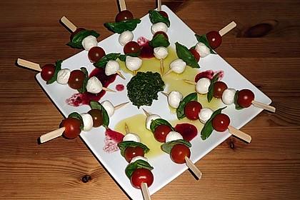 Tomaten - Mozzarella - Spieße 12