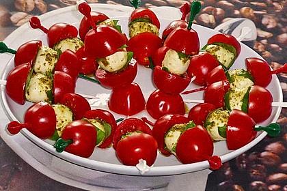 Tomaten - Mozzarella - Spieße 37