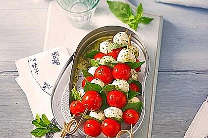 Tomaten - Mozzarella - Spieße 2