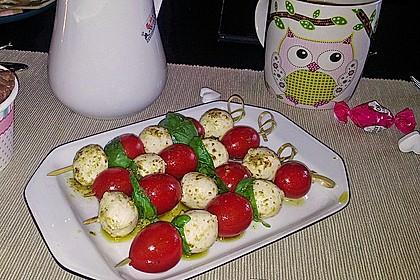 Tomaten - Mozzarella - Spieße 28