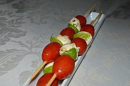 Tomaten - Mozzarella - Spieße 5