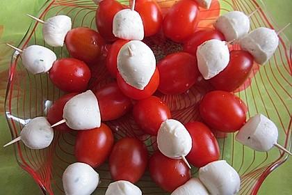 Tomaten - Mozzarella - Spieße 33