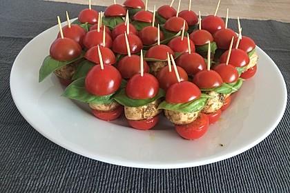 Tomaten - Mozzarella - Spieße 19