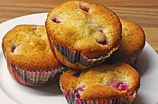 Vanille - Himbeer - Muffins