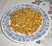 Angelique`s chinesische Hackfleischpfanne mit Reis (Bild)