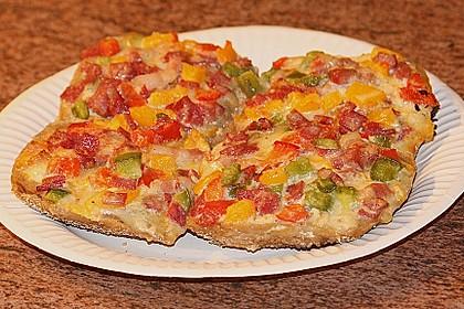 Superschnelle Pizzabrötchen 22