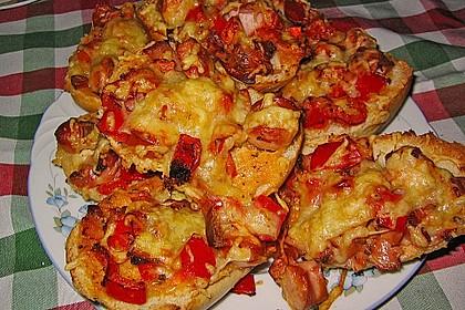 Superschnelle Pizzabrötchen 27