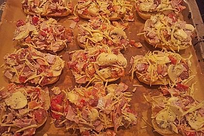Superschnelle Pizzabrötchen 30