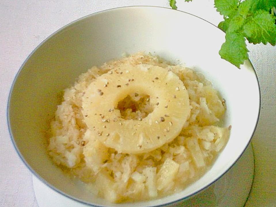 sauerkrautsalat mit ananas rezept mit bild von fische242. Black Bedroom Furniture Sets. Home Design Ideas