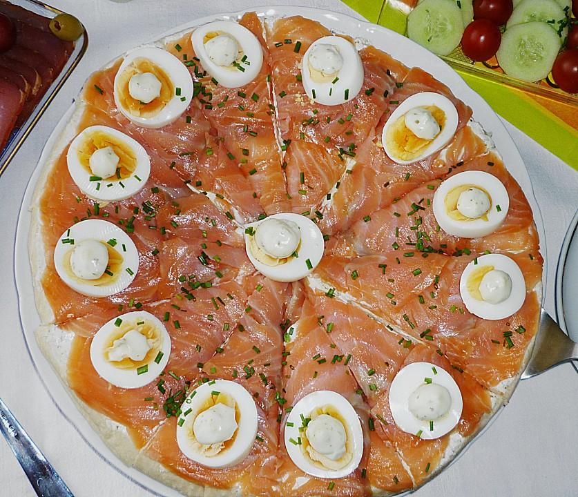 Schnelle Blechkuchen Rezepte Mit Bild: Schnelle Lachstorte (Rezept Mit Bild) Von Doki007