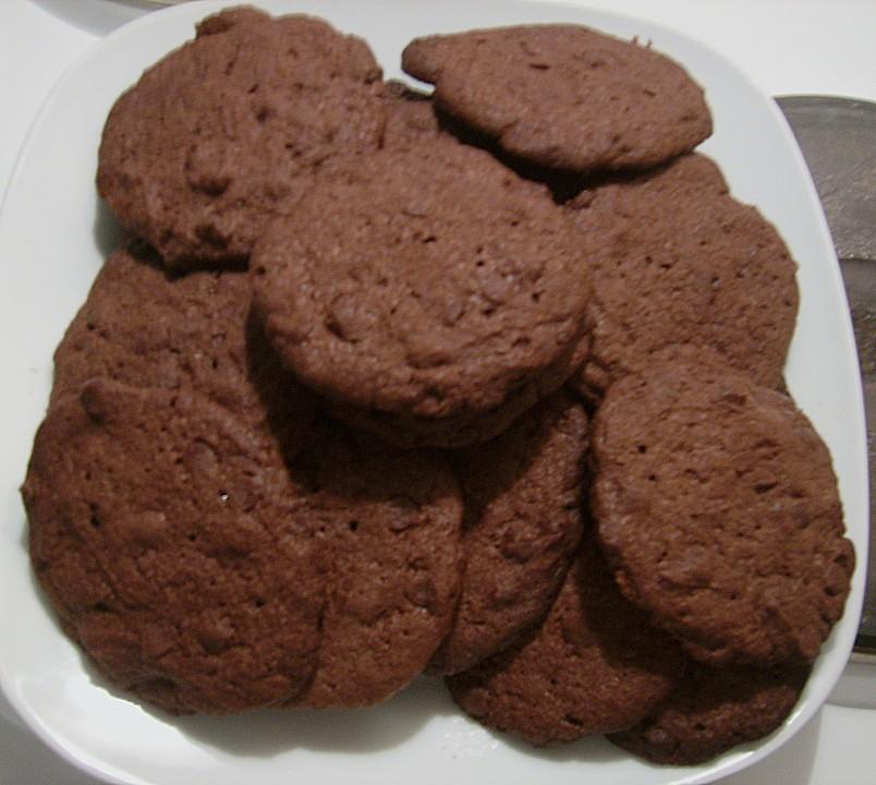 schokoladen cookies rezept mit bild von thesa. Black Bedroom Furniture Sets. Home Design Ideas