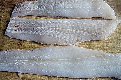 Grenadierfisch an dicken Bohnen 1