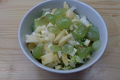 Käse - Trauben - Salat 8