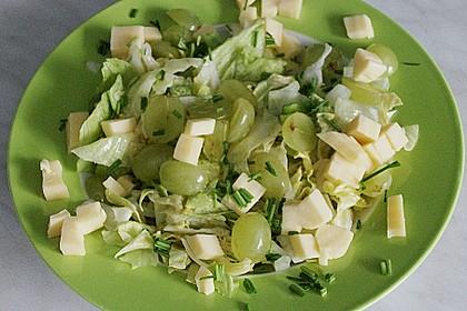 Käse - Trauben - Salat 6