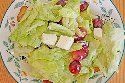 Käse - Trauben - Salat 14